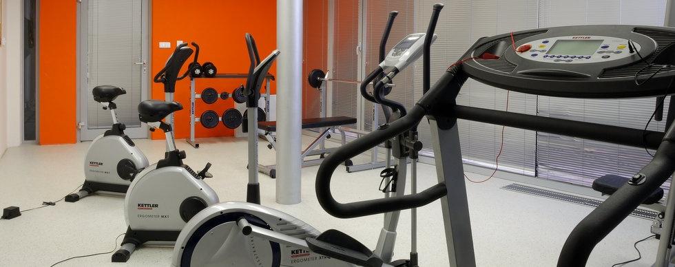Fitnesscentrum ve Vendryni