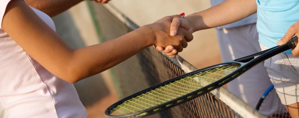 Přátelský  tenisový zápas