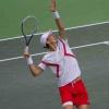 Naši hráči na utkání Davisova poháru