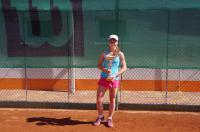 Dominika Hejčová s pohárem za vítězství na celostátním turnaji dorostenek