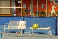 Vnitřní tenisové kurty ve Vendryni