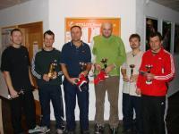 turnaj 28.9.2009  vítězové a finalisté