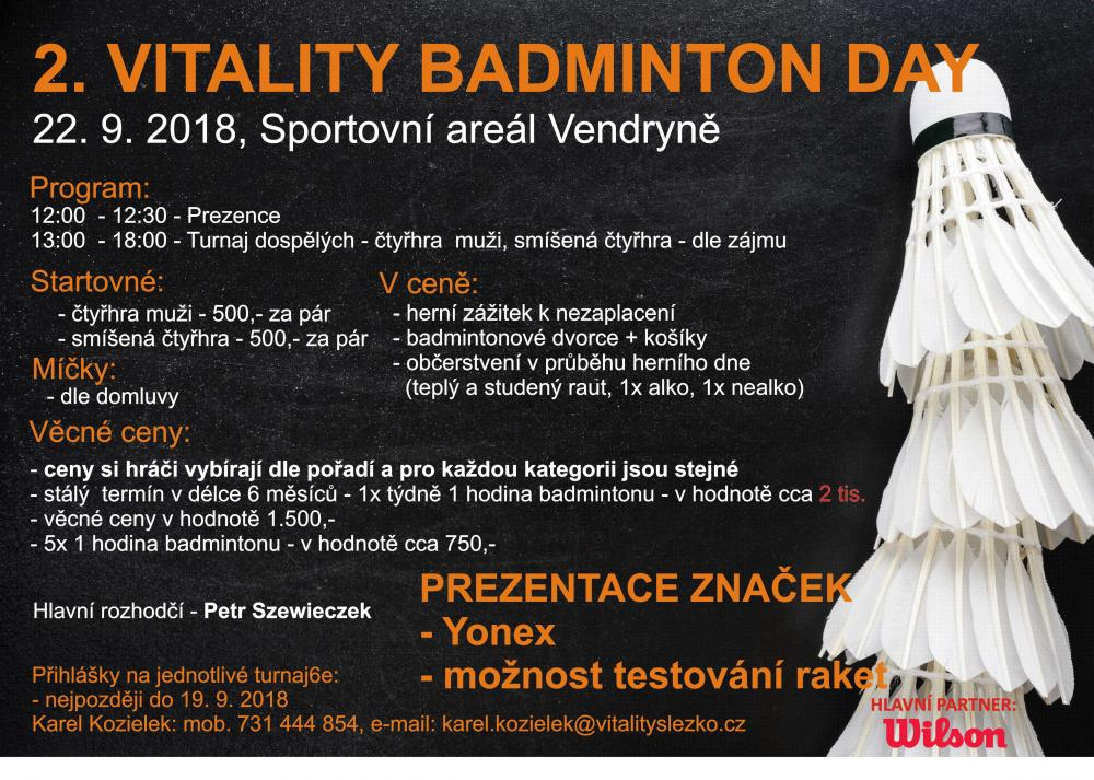 2. Vitality BADMINTON DAY